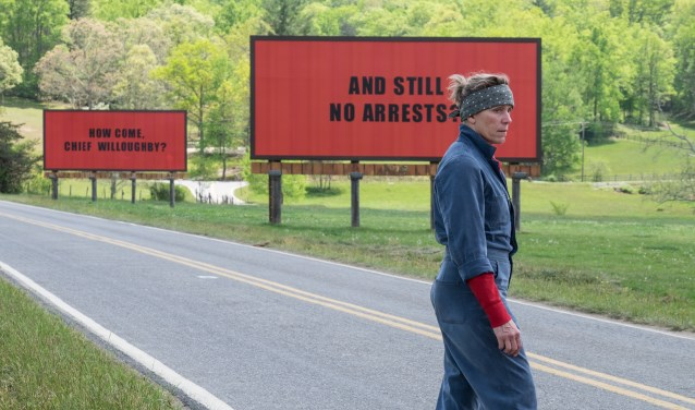 Three Billboards Outside Ebbing Missouri. Foto: Twentieth Century Fox Film