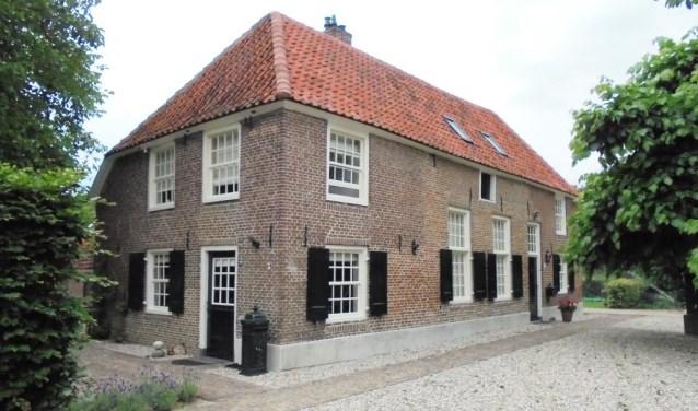 Oude Wientjesvoort voor- en zuidgevel 2017. Foto: PR