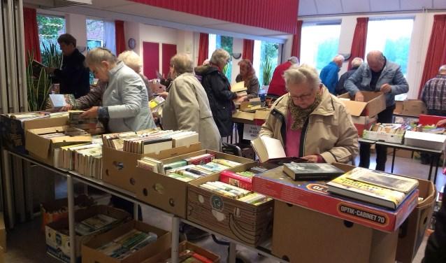 Boekenmarkt in Den Hof. Foto:PR