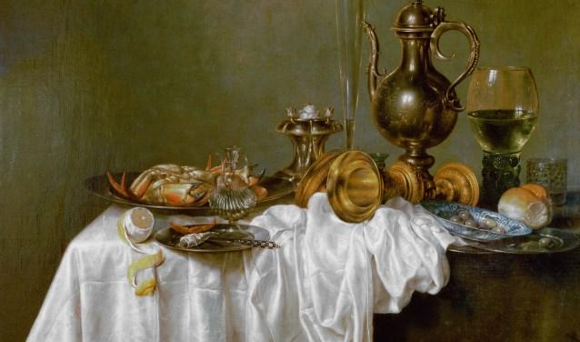 Willem Heda: ontbijt met krab 1648. Foto: PR
