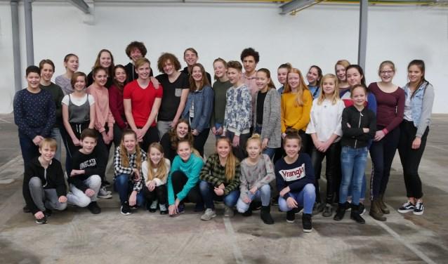 De cast van Shrek de musical. Foto: Jan Nekkers