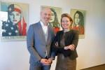 Alain van de Haar en Ilse Saris zetten zich samen in voor een nieuwe opleiding. Foto: gemeente Winterswijk