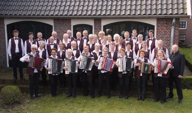 De Varsseveldse Akkordeon Vereniging geeft een concert in De Radstake. Foto: PR