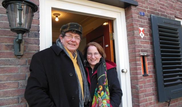Bij dominee Frans Gijzel en zijn vrouw Jet stond de deur altijd open. Foto: Eric Klop