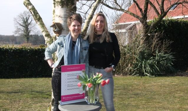 Heidi Schreurs en Desirée Heerdink (rechts). Foto: Lydia ter Welle