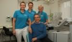 Marieke, Pauline en Margreet zetten praktijk voort zonder Bertjan Agterberg. Foto: Liesbeth Spaansen