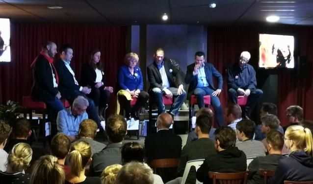 Lijsttrekkersdebat in Rietmolen. Foto: Rob Weeber