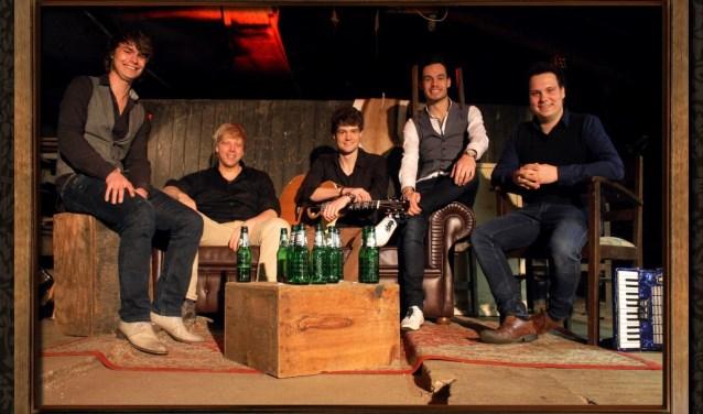 De band Livin' Room treedt op in Herfkens. Foto: PR