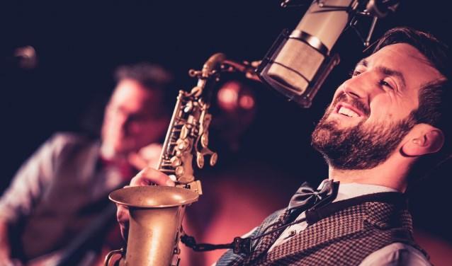 Threesome Jazz bestaat uit Benjamin Kuijpers (foto), Lex Kemper en Martin van Delden. Foto: PR