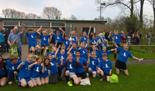 Het team van de Kraanvogel won het toernooi. Foto: Ernst-Jan Somsen