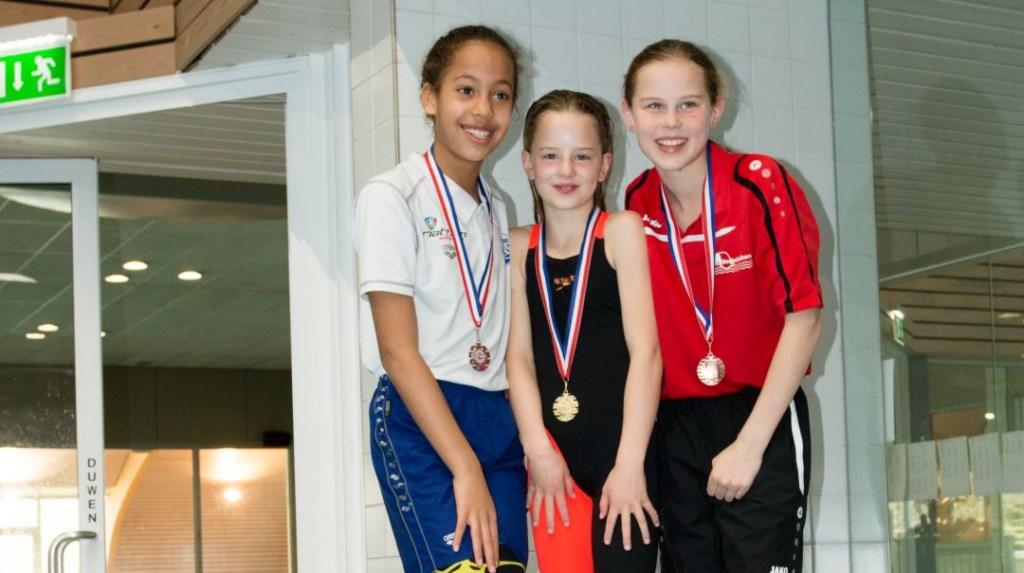 Goud voor zwemster Imke Riefel uit Hengelo. Foto: PR