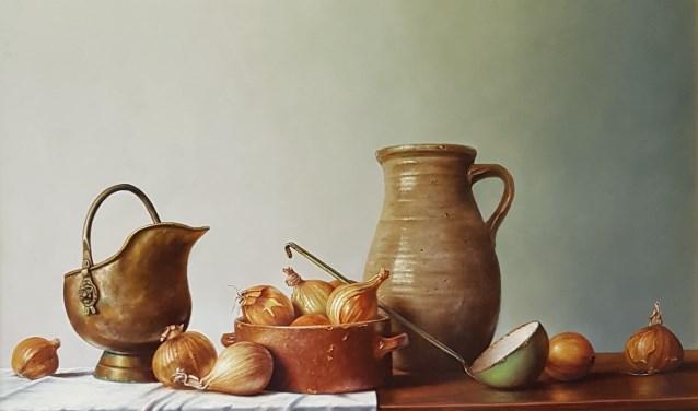 Expositie van fijnschilder Ger-Jan Voerman in Galerie De Luifel.