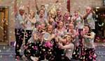 De dames van WSV vieren de winst. Foto: PR
