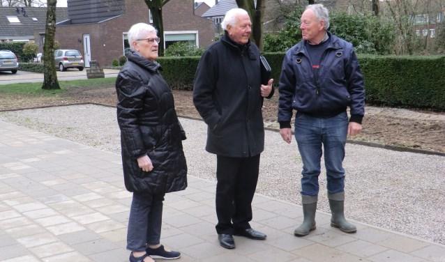 Annelies Cornelissen, Ton Tangelder en Frans van Hal (vlnr). Foto: Walter Hobelman