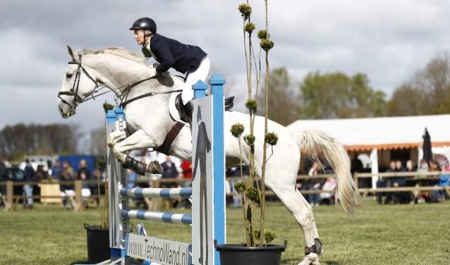 Paardensport van niveau op De Maat. Foto: Boelo Meijer Fotografie