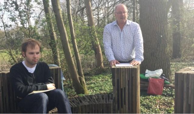 Maarten Buser (links) en Wim van Til. Foto: PR