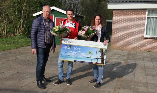 De prijs wordt uitgereikt aan Gijs Kistemaker. Foto: PR