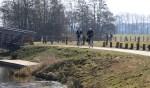 De gezinsfietstocht voert door het grensgebied. Foto: PR
