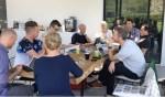 De partijen tijdens een overleg. Foto: PR
