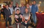Jubilaris van HCI Jos Nijenhuis gehuldigd voor 40 jaar dienstverband. Foto: PR