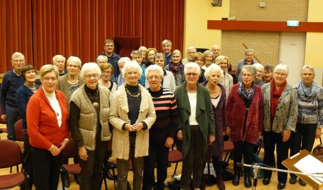 Het Zelhems Christelijk Oratorium Koor. Foto: PR