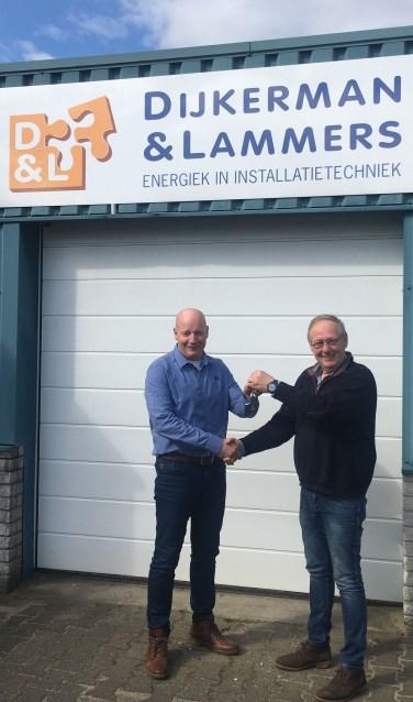 Patrick Aarnink (links) en Gerrit Dijkerman. Foto: PR