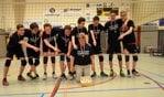 Dash jongens B1 met hun coach. Foto: PR