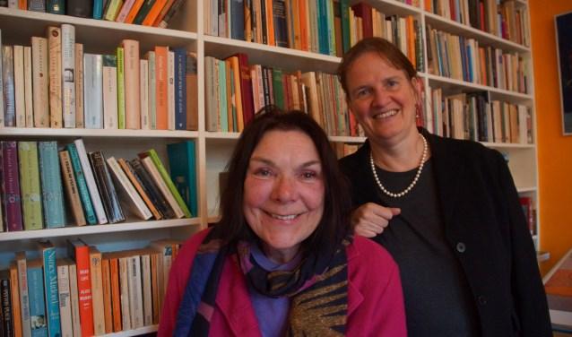Jolande Withuis en Martine Letterie. Foto: Bernadet te Velthuis