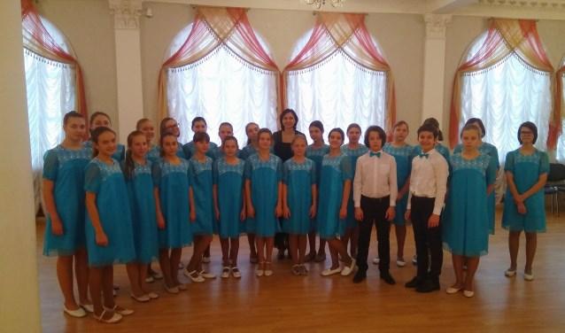 Het Russisch kinderkoor Samenklank. Foto: Communicatie Samenklank, Moskou