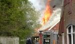 Explosies bij uitslaande brand aan de Aladnaweg. Foto: NEws United/112 Achterhoek Nieuws