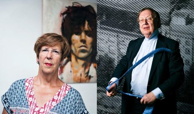 Annemarie Jorritsma en Nout Wellink zijn te gast in de laatste editie van Achterhoek College Tour. Foto: PR