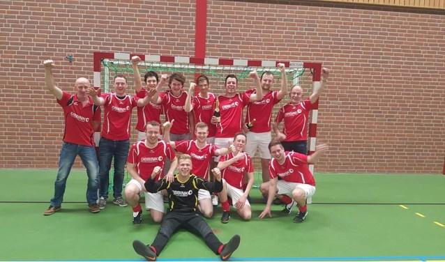 De Treffers, na 25 jaar weer eens kampioen van de Paklack-competitie. Foto: PR