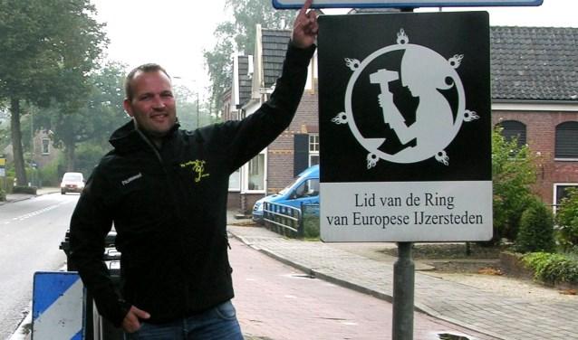 Mark Kuiperij opent de competitie met zijn Terborg tegen buurman VVG'25. Foto: John van der Kamp
