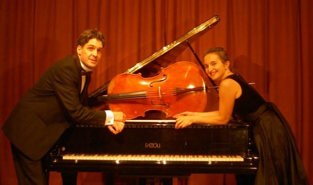 Duo Celliano, bestaande uit Renata Karasiak en Hans de Leeuw. Foto: Frank Timmermans