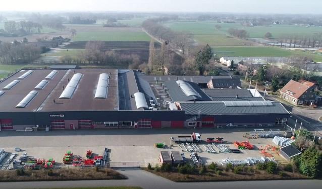 Het complex van Hoopman in IJzerlo. Foto: PR