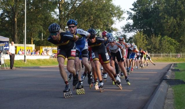 De inline-skatemarathon wordt gehouden op de skatebaan op sportpark Zuid. Foto: PR