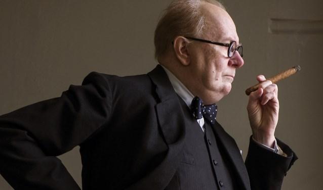 Darkest Hour, met Gary Oldman als Winston Churchill, draait in Filmhuis Didam. Foto: Focus Features