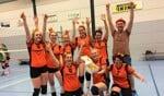 Het gepromoveerde derde vrouwenteam van Tornax. Foto: PR.