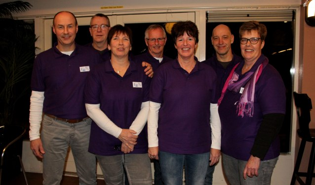 Het bestuur van de SamenLoop voor Hoop Bronckhorst. Foto: Liesbeth Spaansen
