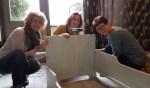 De Pronsweide-collega's aan het werk. Foto: PR
