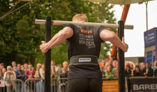 Kevin van Asselt in actie. Foto: PR