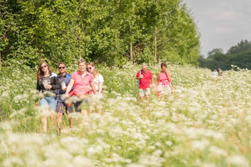 Achterhoekse Wandelvierdaagse, vlakbij sluizencomplex De Pol in Terborg. Foto: Burry van den Brink  © Achterhoek Nieuws b.v.