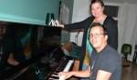 Jeffrey Sletering en Nicole Rouwmaat nodigen muzikanten uit voor de TOS Challenge . Foto: Leander Grooten