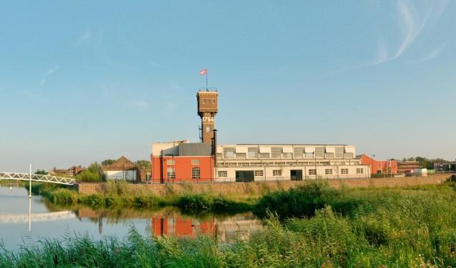 Dauwtrap-ochtend vanaf het DRU Industriepark. Foto: PR