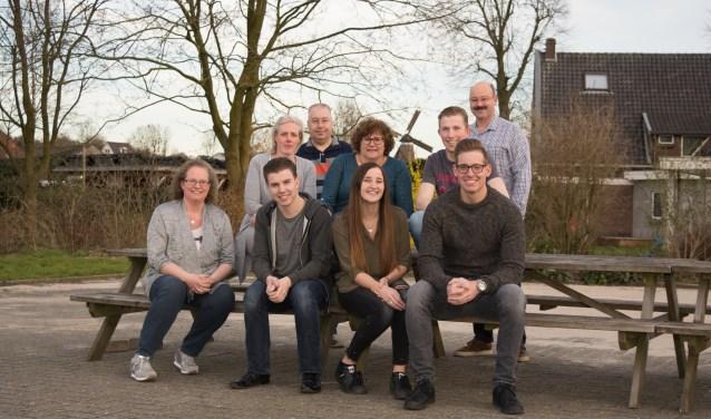 De Stokkumse projectgroep. Foto: Hennie Freriks