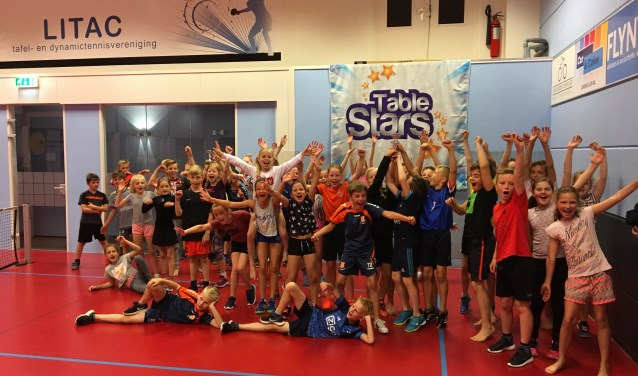 Table Stars schoolkampioenen Litac