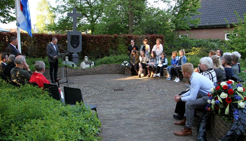 Mart de Kruif vertelde het levensverhaal van John Gorden Kavanagh. Foto: Achterhoekfoto.nl/Liesbeth Spaansen