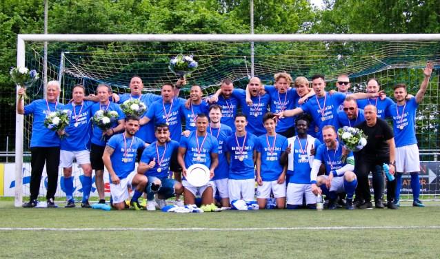Be Quick zaterdag 1 kampioen seizoen 2017-2018. Foto: PR Be Quick