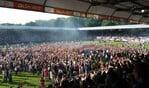 Volksfeest op De Vijverberg na promotie van De Graafschap naar eredivisie. Foto: StadDoetinchem.nl