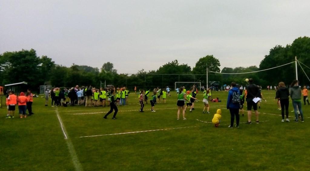 Sportdag basisscholen op het terrein van Be Quick. Foto: PR